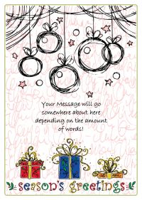 A Personalized Gift Card 007 Xmas
