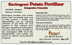 Envirogrow Potato Fertiliser 10kg bag